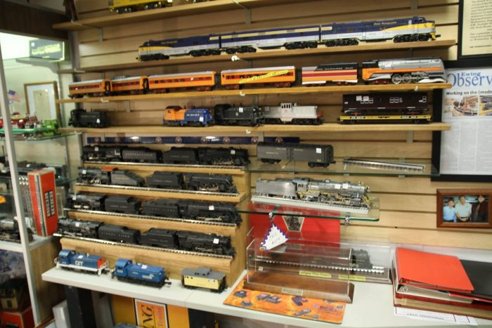 Shelves of Trains